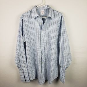 Brooks Brothers Shirt  Non Iron Button Work #595